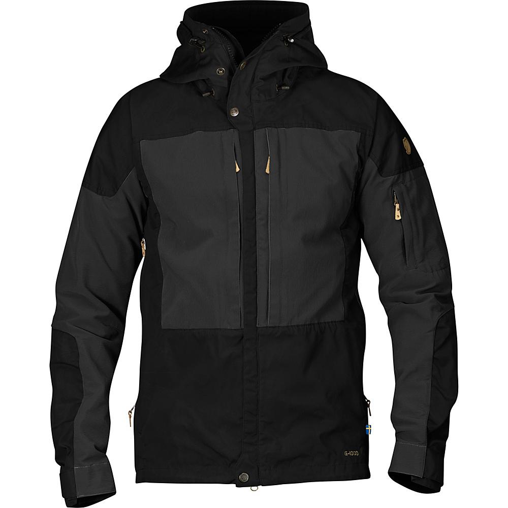 Fjallraven Keb Jacket XS - Black - 34 - Fjallraven Mens Apparel - Apparel & Footwear, Men's Apparel