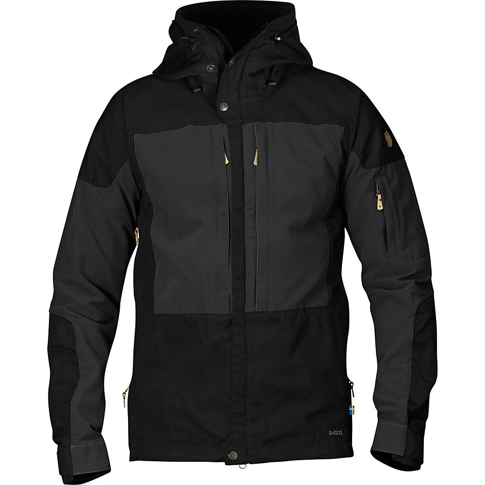 Fjallraven Keb Jacket L - Black - 34 - Fjallraven Mens Apparel - Apparel & Footwear, Men's Apparel