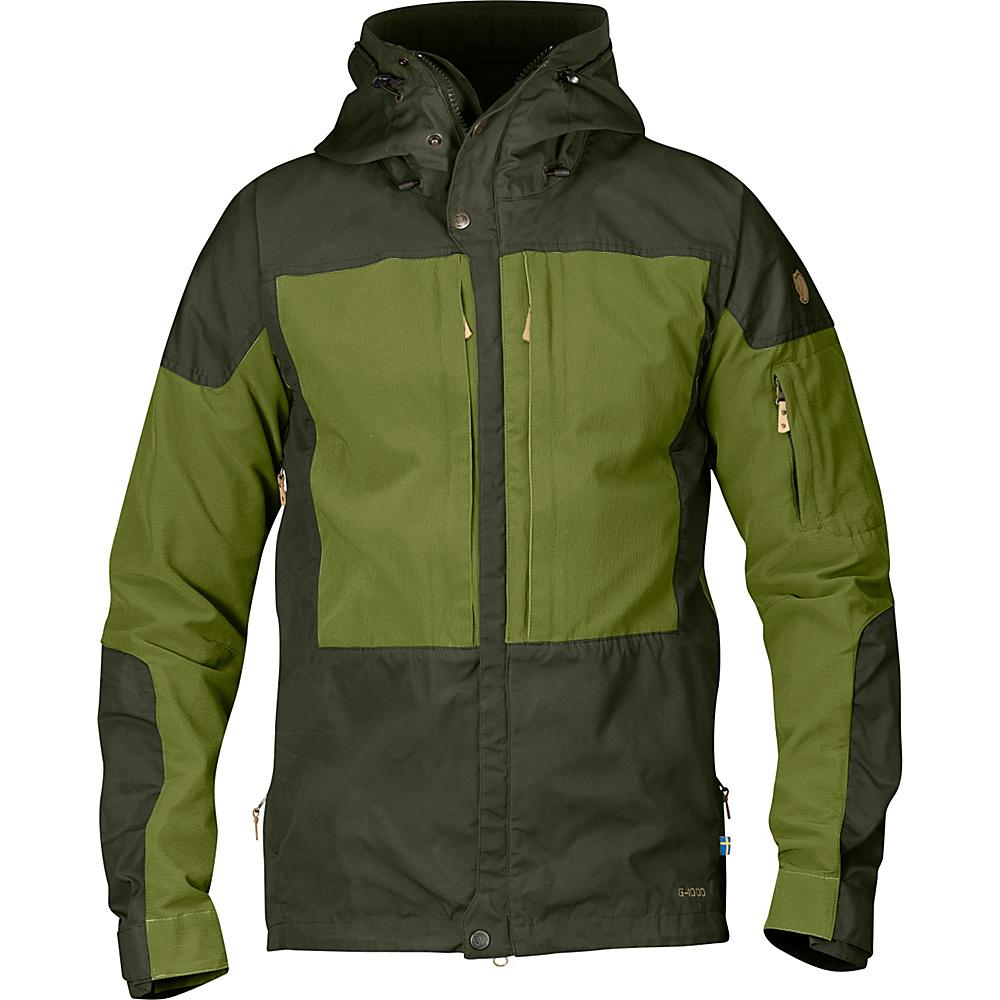 Fjallraven Keb Jacket M - Olive - Large - Fjallraven Mens Apparel - Apparel & Footwear, Men's Apparel