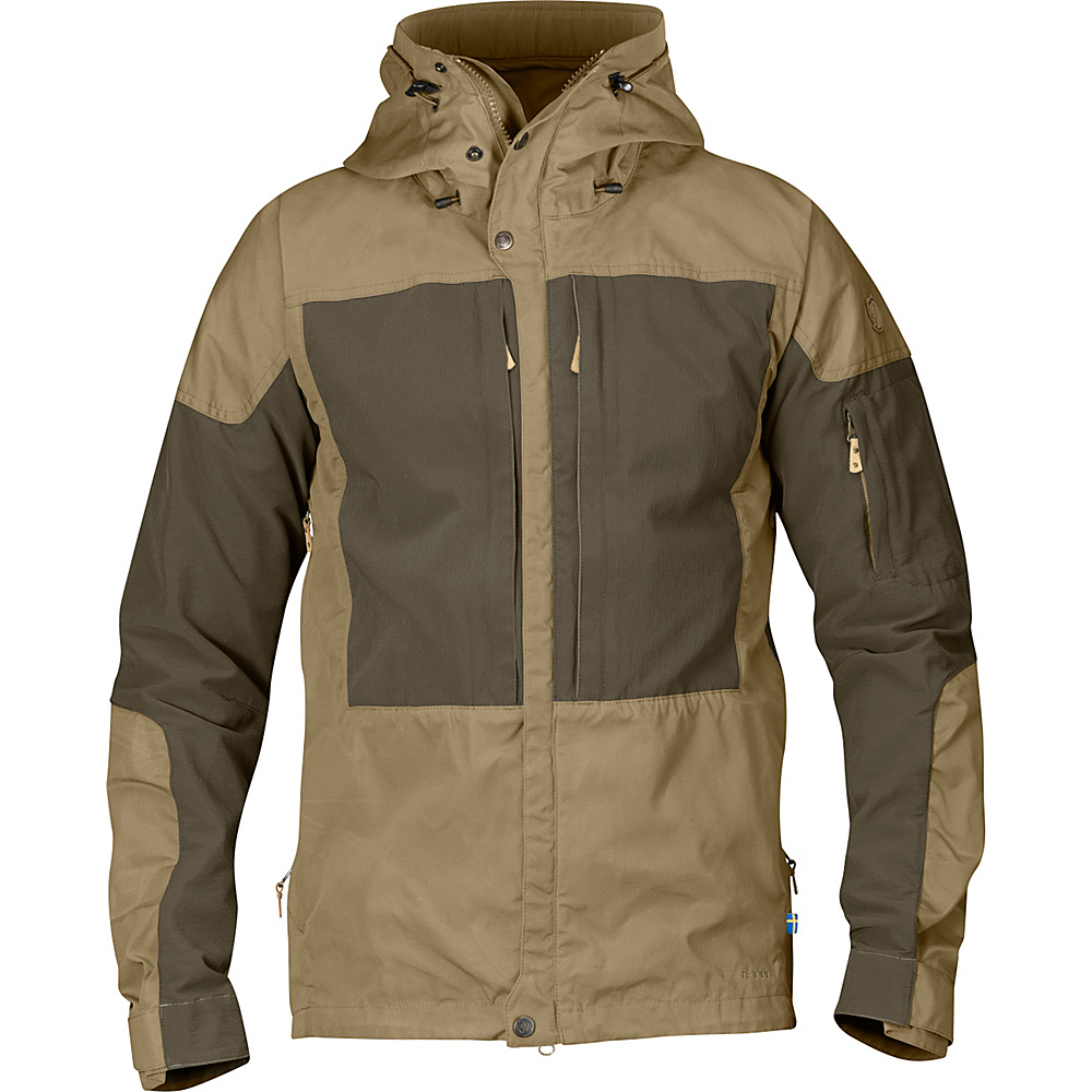 Fjallraven Keb Jacket L - Sand - Fjallraven Mens Apparel - Apparel & Footwear, Men's Apparel