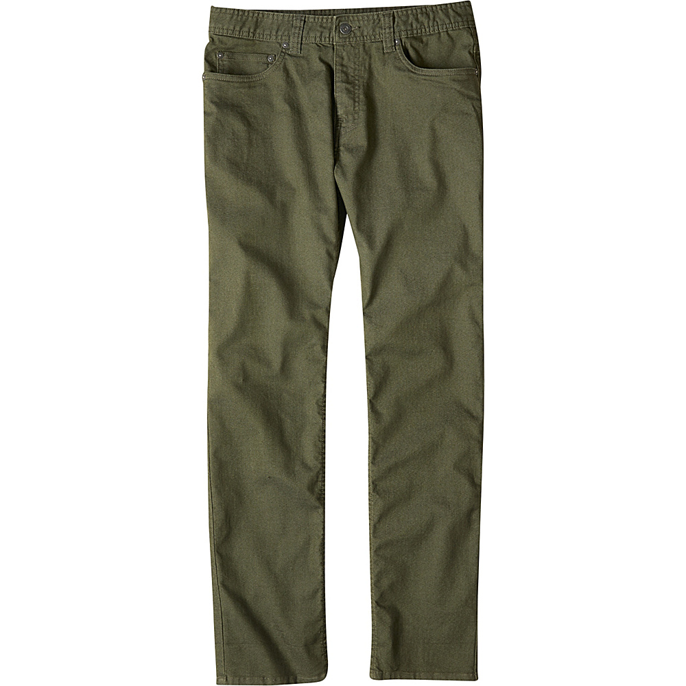 PrAna Bridger Jeans - 32 Inseam 32 - Cargo Green - PrAna Mens Apparel - Apparel & Footwear, Men's Apparel
