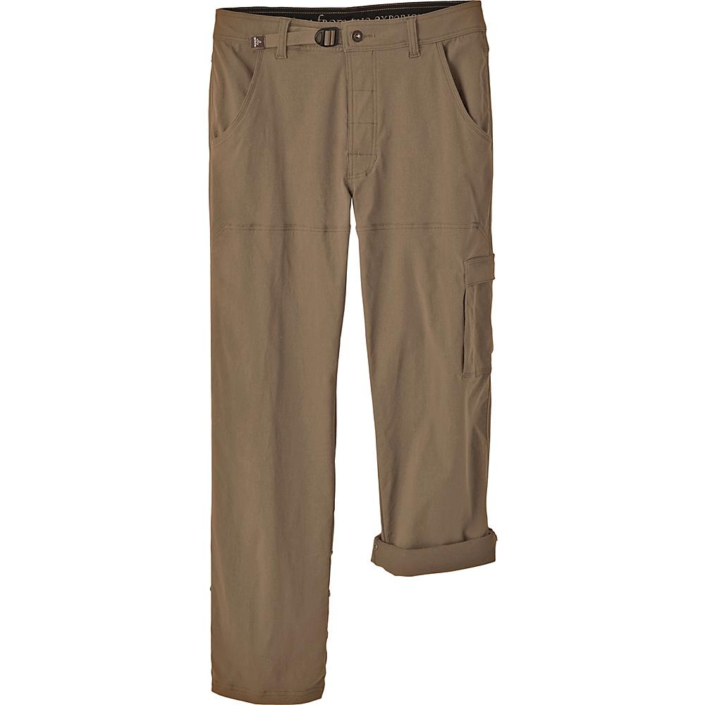PrAna Stretch Zion Pants - 36 Inseam 33 - Mud - PrAna Mens Apparel - Apparel & Footwear, Men's Apparel