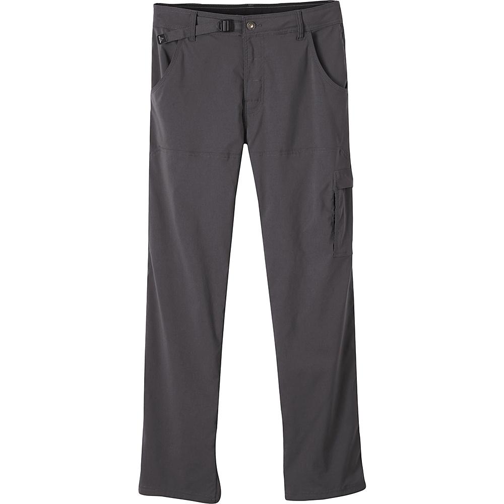 PrAna Stretch Zion Pants - 36 Inseam 36 - Charcoal - PrAna Mens Apparel - Apparel & Footwear, Men's Apparel