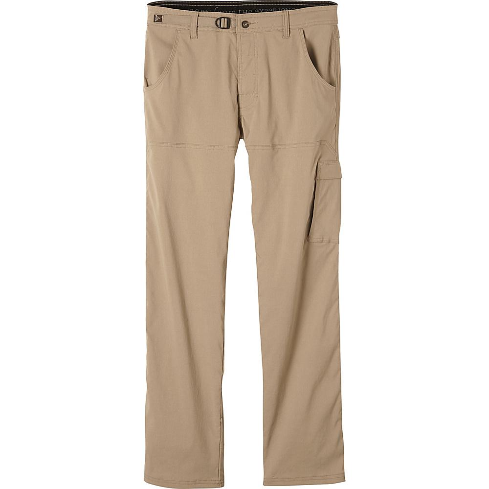 PrAna Stretch Zion Pants - 36 Inseam 32 - Dark Khaki - PrAna Mens Apparel - Apparel & Footwear, Men's Apparel