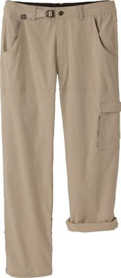 PrAna Stretch Zion Pants - 36 inch Inseam 34 - Dark Khaki - PrAna Men's Apparel