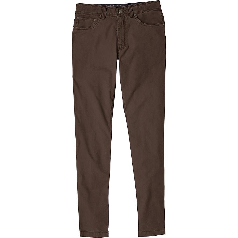 PrAna Tucson Slim Fit Pants - 32 Inseam 36 - Charcoal - PrAna Mens Apparel - Apparel & Footwear, Men's Apparel