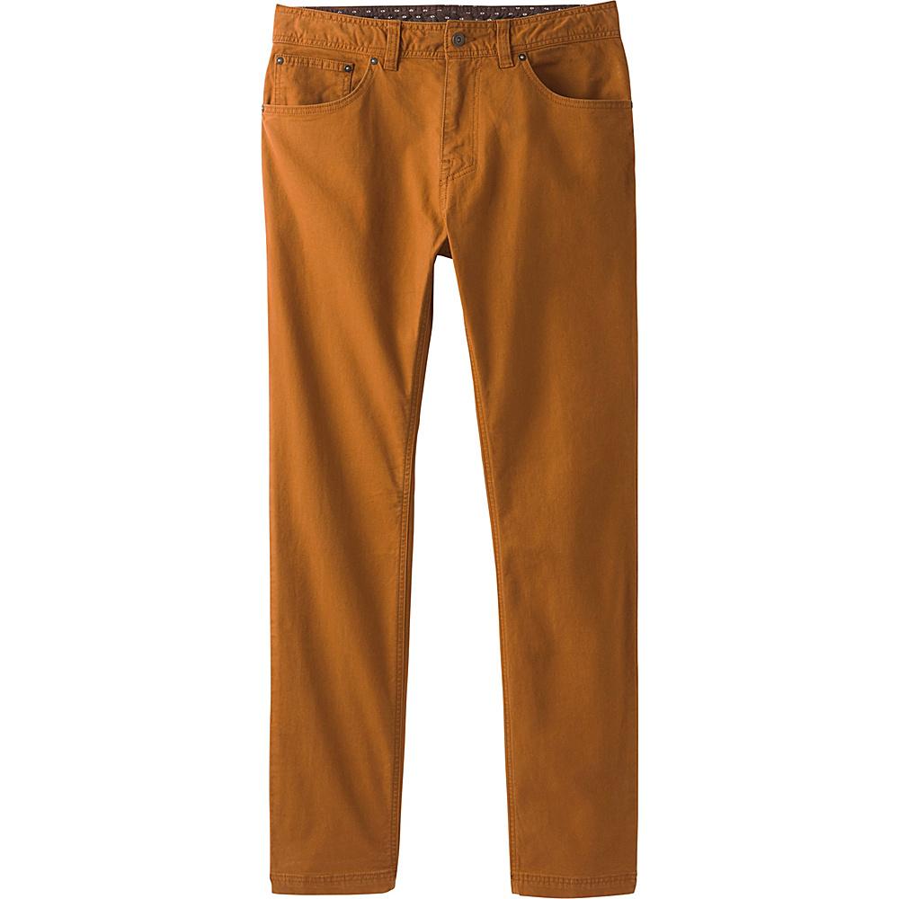 PrAna Tucson Slim Fit Pants - 32 Inseam 32 - Cumin - PrAna Mens Apparel - Apparel & Footwear, Men's Apparel