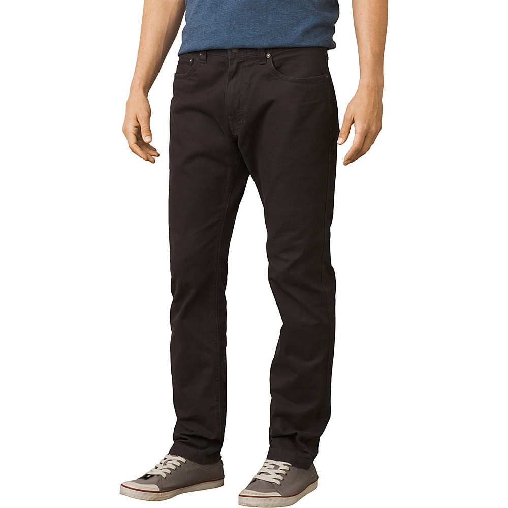 PrAna Tucson Slim Fit Pants - 32 Inseam 40 - Black - PrAna Mens Apparel - Apparel & Footwear, Men's Apparel