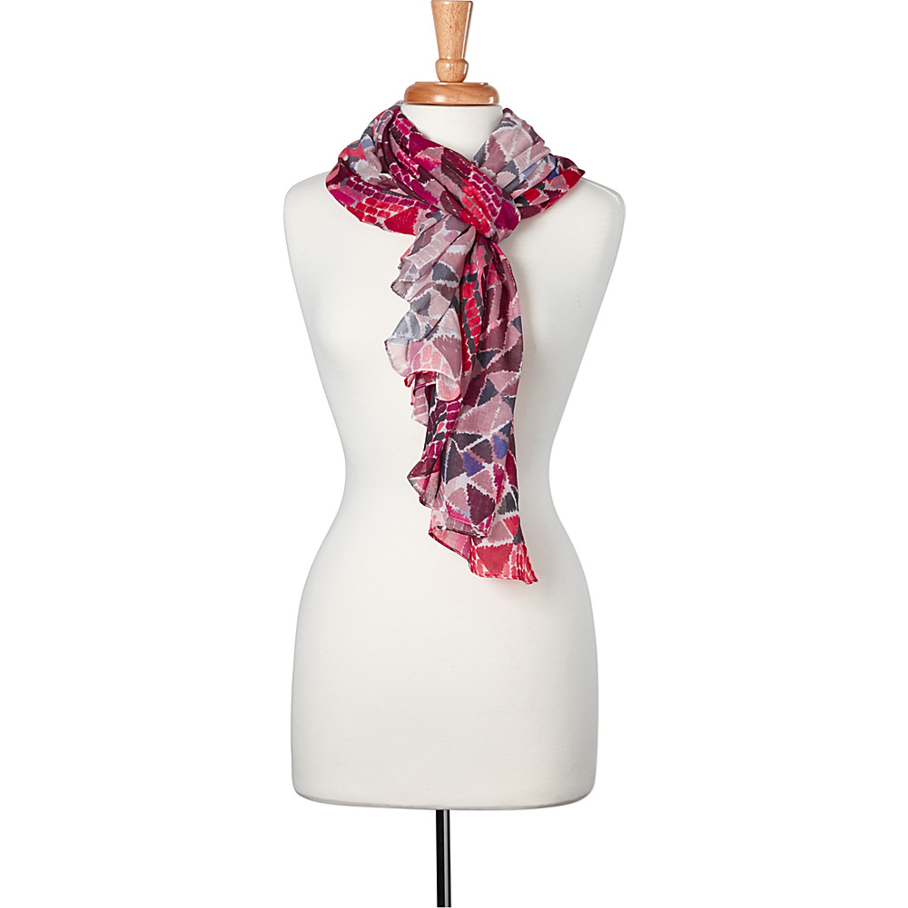 PrAna Bakasana Scarf Orchid Firefly - PrAna Hats/Gloves/Scarves - Fashion Accessories, Hats/Gloves/Scarves