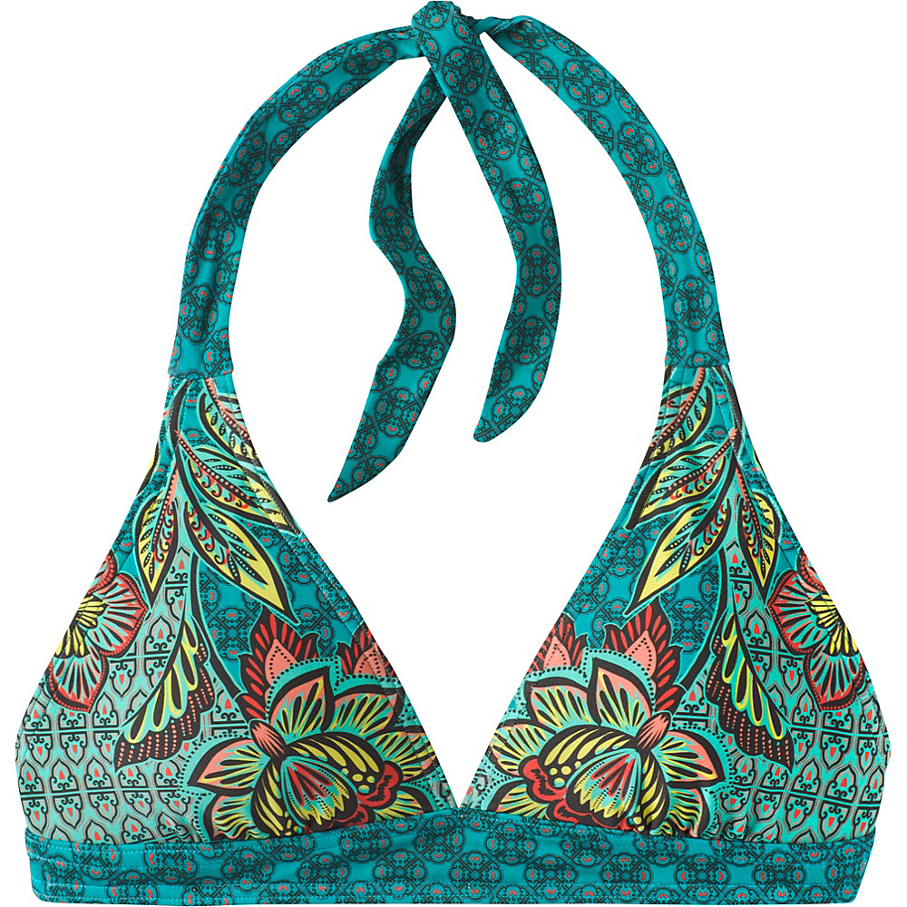 PrAna Lahari Halter Top XL - Dragonfly Fleur Damour - PrAna Womens Apparel - Apparel & Footwear, Women's Apparel