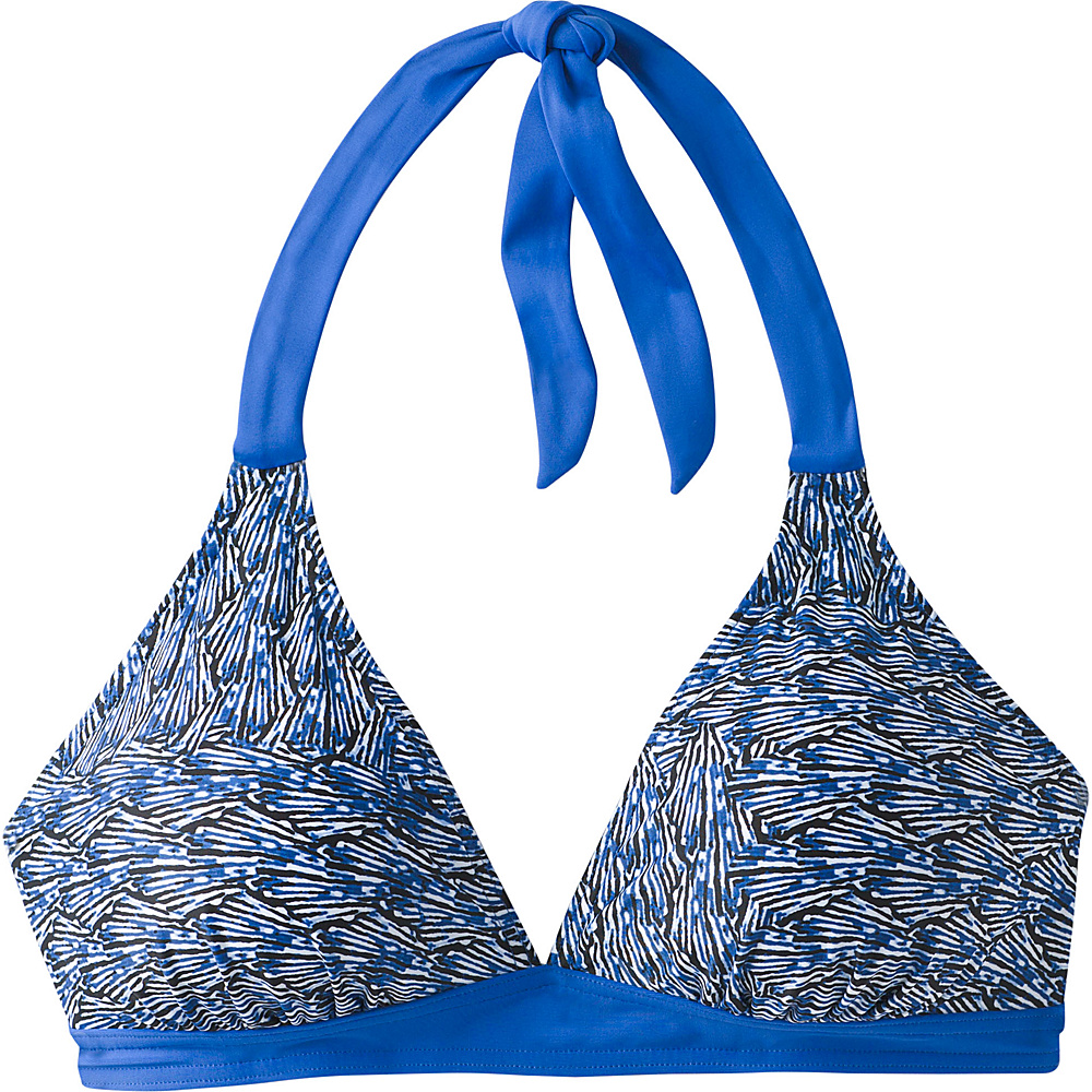 PrAna Lahari Halter Top XS - Blue Seashells - PrAna Womens Apparel - Apparel & Footwear, Women's Apparel