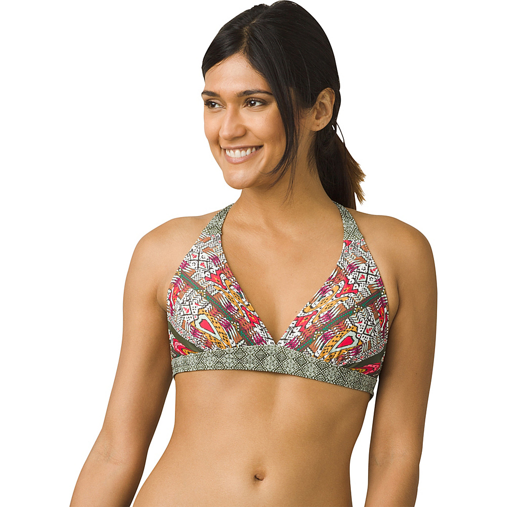 PrAna Lahari Halter Top XS - Cargo Marrakesh - PrAna Womens Apparel - Apparel & Footwear, Women's Apparel