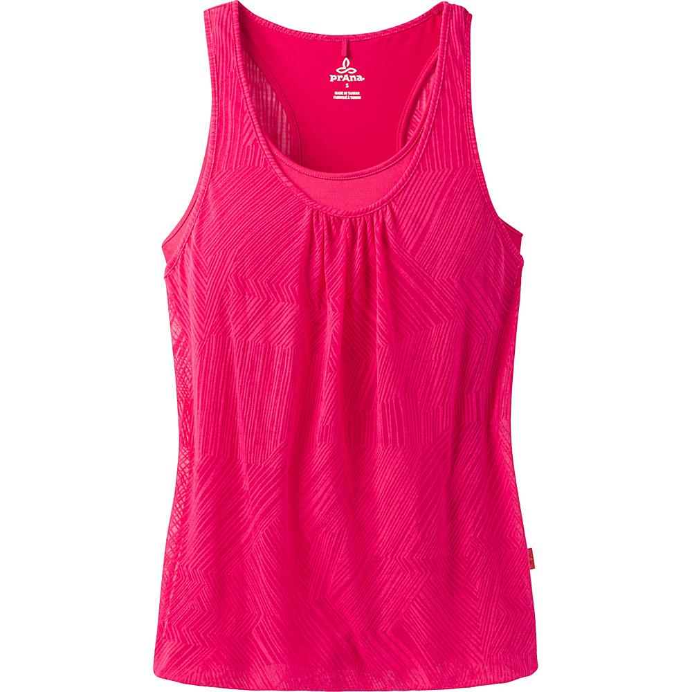 PrAna Mika Top L - Cosmo Pink Copa - PrAna Womens Apparel - Apparel & Footwear, Women's Apparel