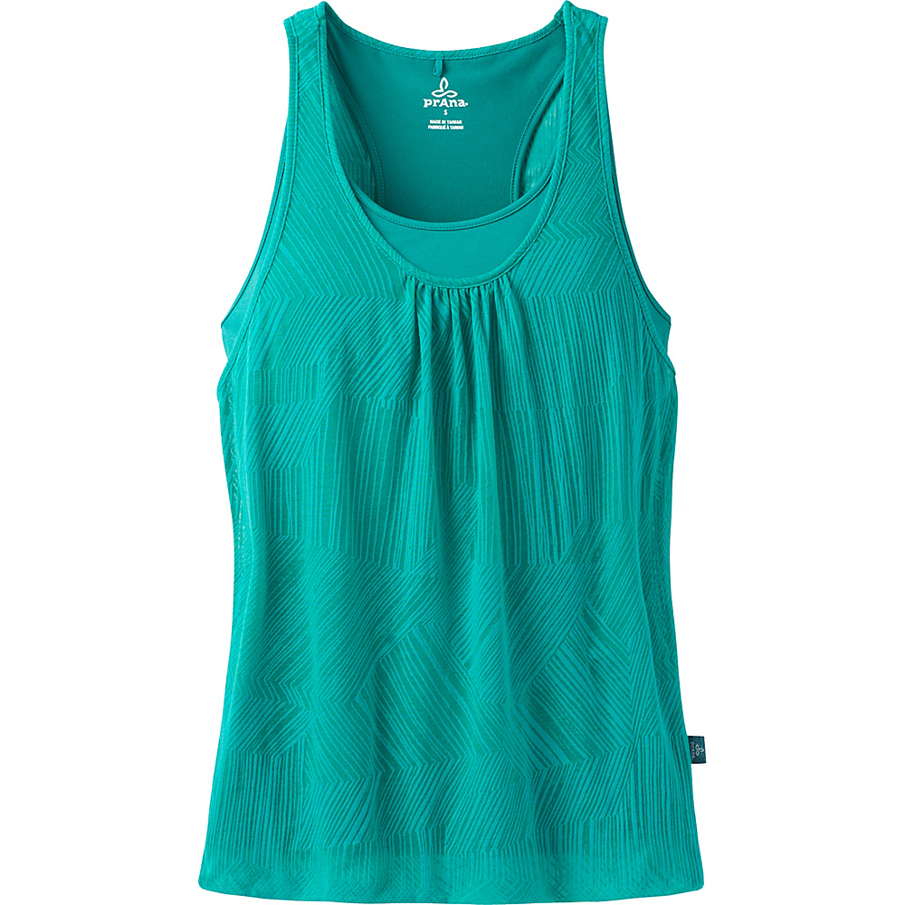 PrAna Mika Top XS - Electro Blue - PrAna Womens Apparel - Apparel & Footwear, Women's Apparel