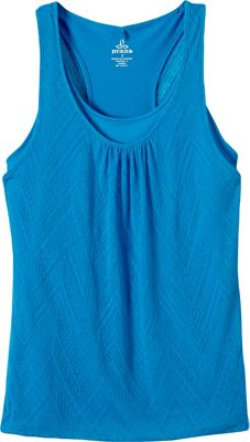 PrAna Mika Top M - Electro Blue - PrAna Women's Apparel