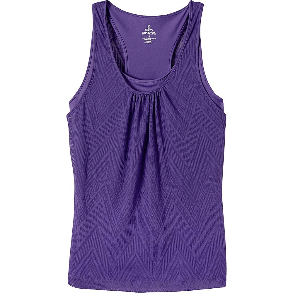 PrAna Mika Top S - Ultra Violet - PrAna Womens Apparel - Apparel & Footwear, Women's Apparel