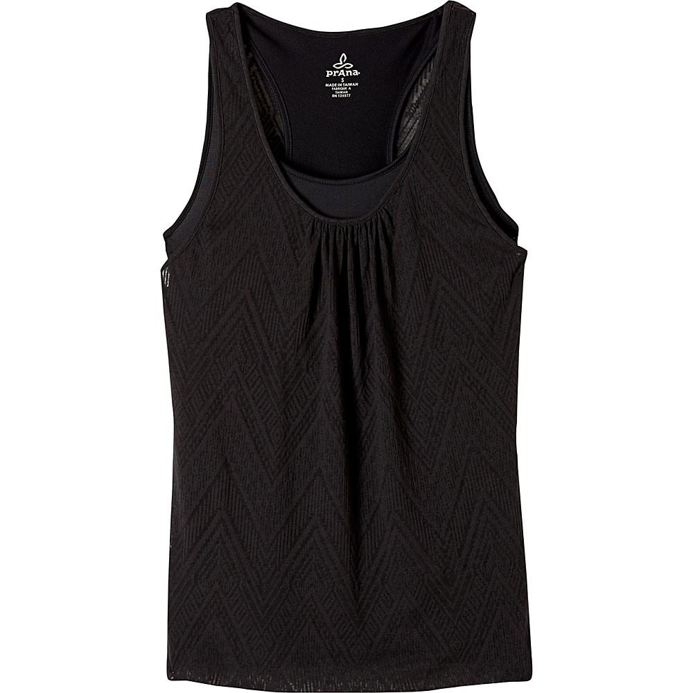 PrAna Mika Top XS - Black - PrAna Womens Apparel - Apparel & Footwear, Women's Apparel