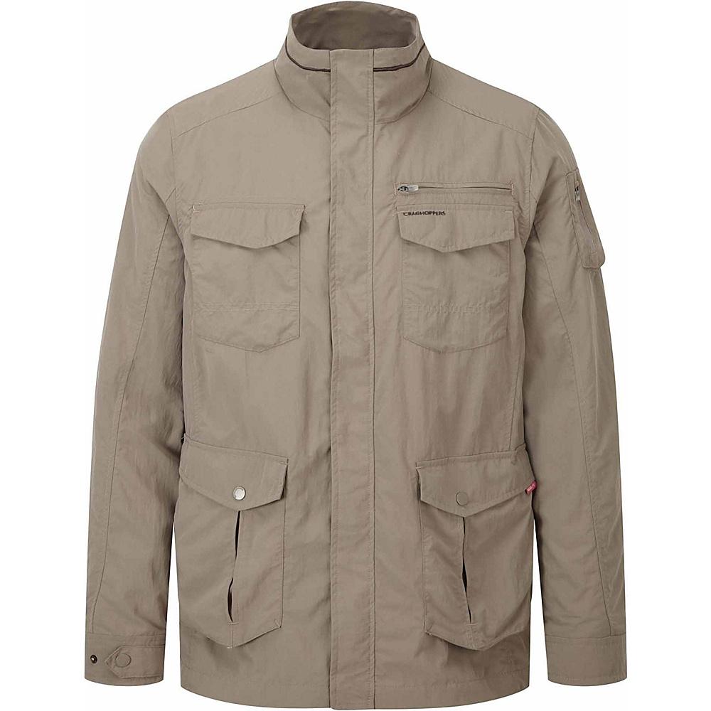 Craghoppers Nosilife Adventure Jacket XL - Pebble - Craghoppers Mens Apparel - Apparel & Footwear, Men's Apparel