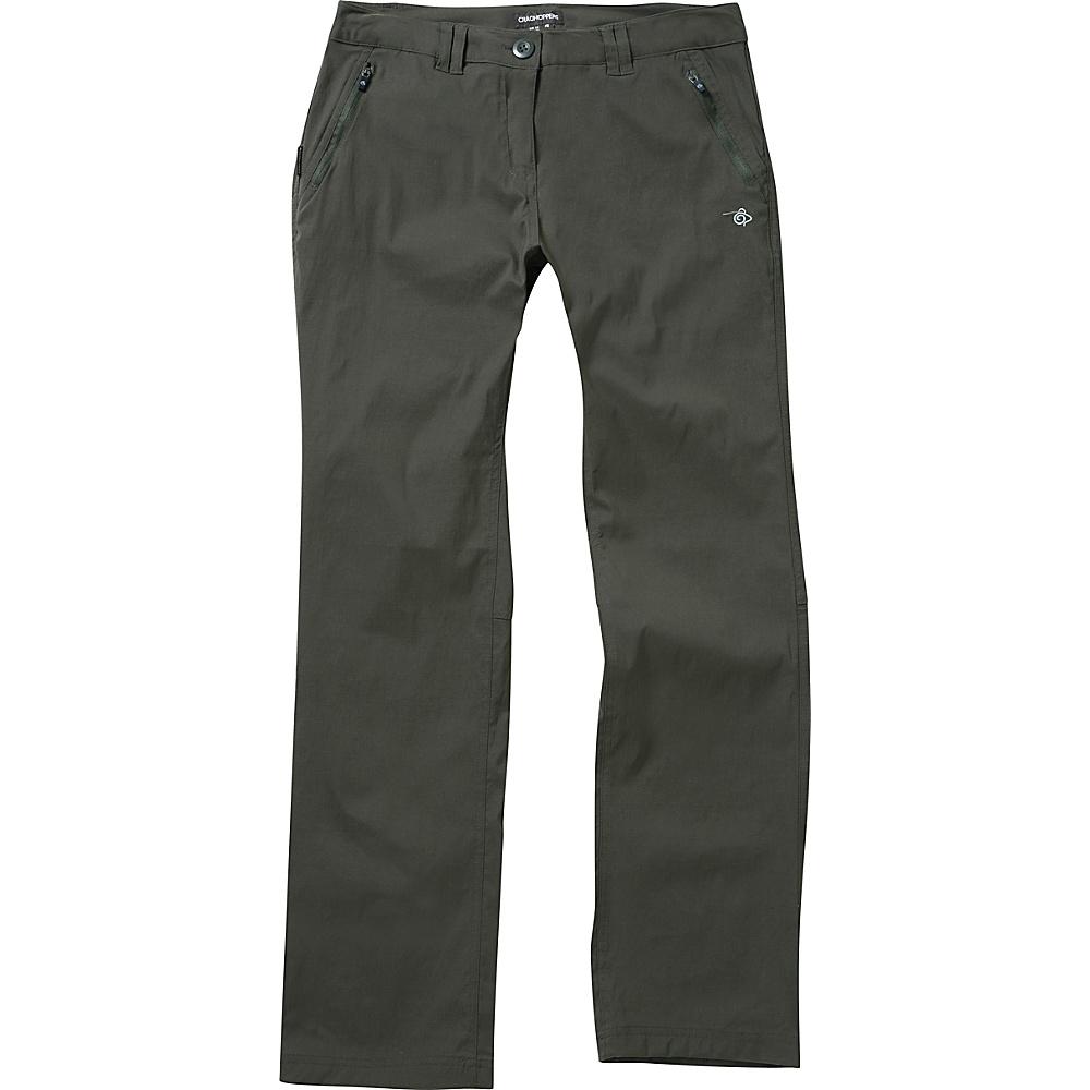 Craghoppers Nat Geo Kiwi Pro Trouser - Short 4 - Mid Khaki - Craghoppers Womens Apparel - Apparel & Footwear, Women's Apparel