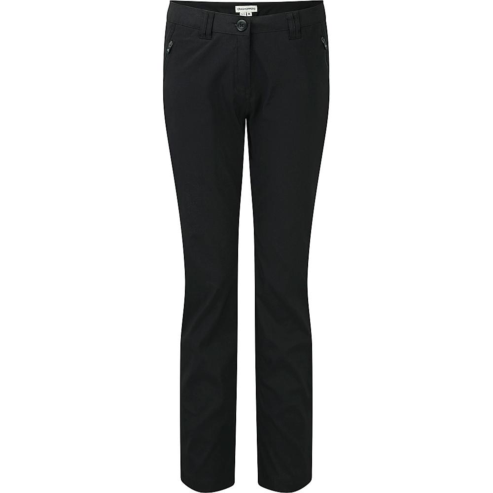 Craghoppers Nat Geo Kiwi Pro Trouser - Short 4 - Black - Craghoppers Womens Apparel - Apparel & Footwear, Women's Apparel