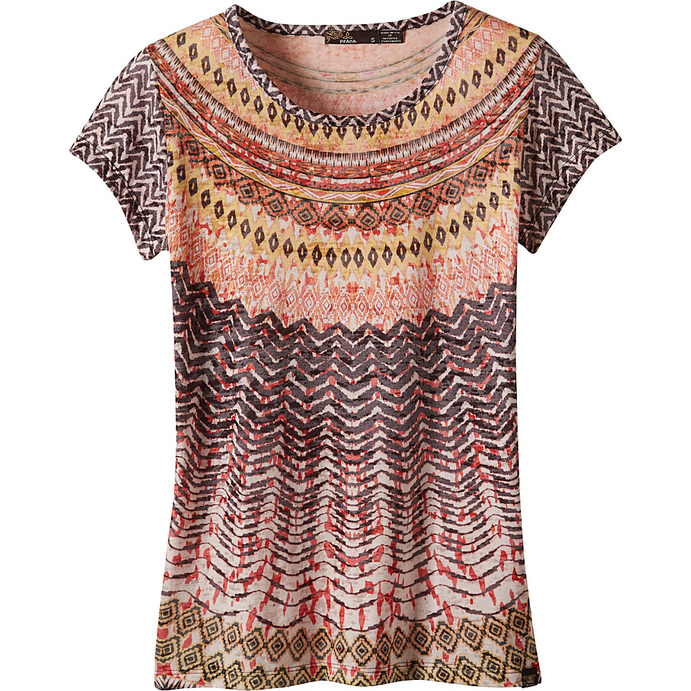 PrAna Sol Tee Shirt XL - Dandelion - PrAna Womens Apparel - Apparel & Footwear, Women's Apparel