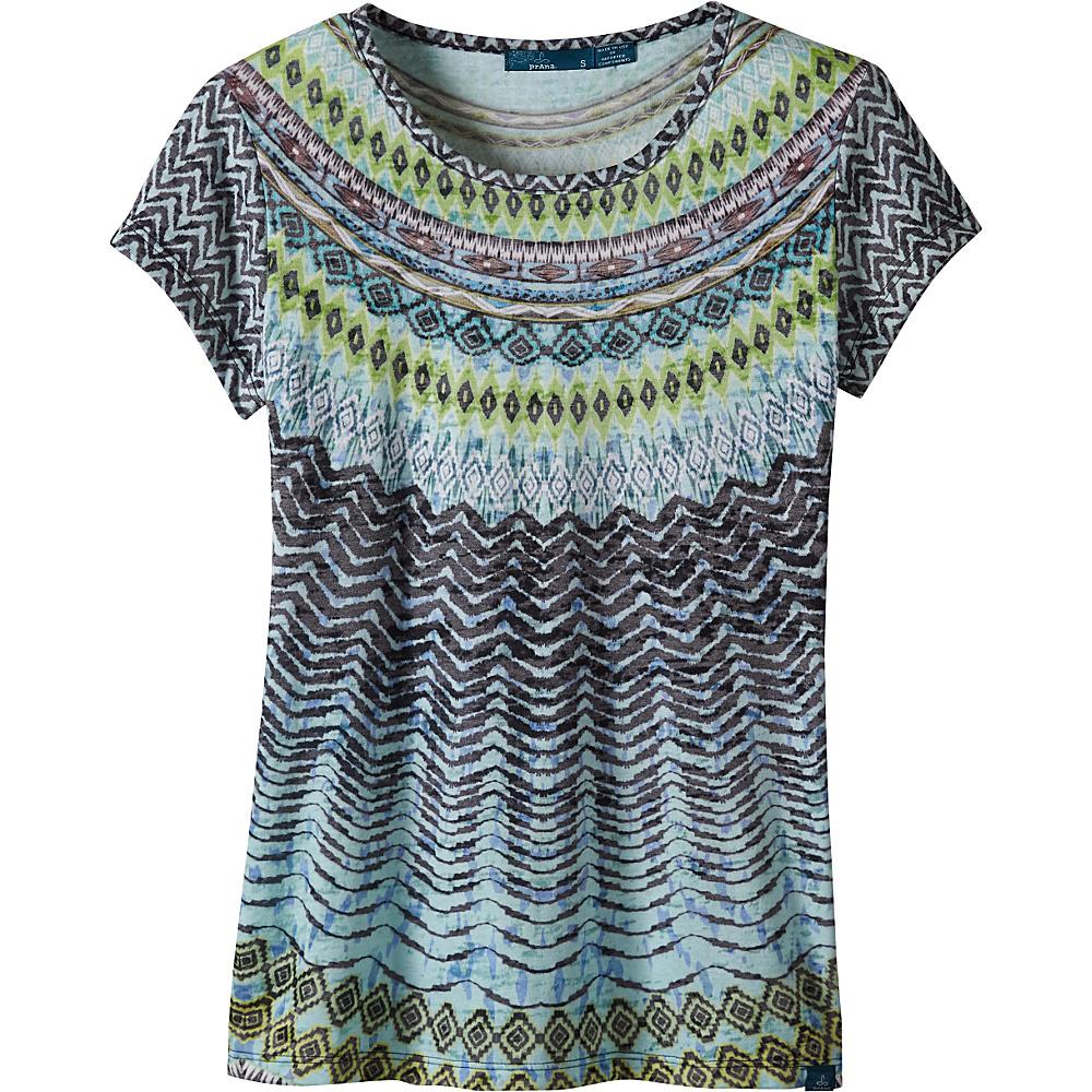 PrAna Sol Tee Shirt M - Sour Apple - PrAna Womens Apparel - Apparel & Footwear, Women's Apparel