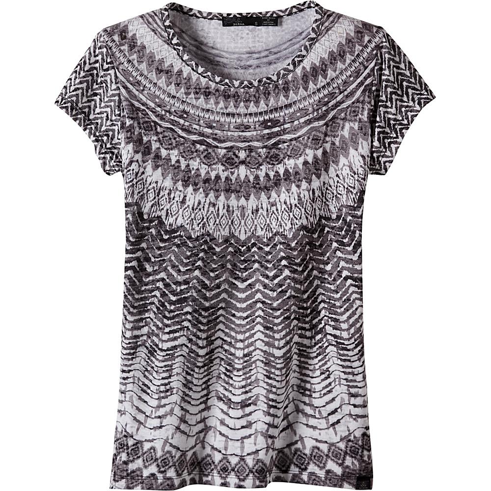 PrAna Sol Tee Shirt L - Black - PrAna Womens Apparel - Apparel & Footwear, Women's Apparel