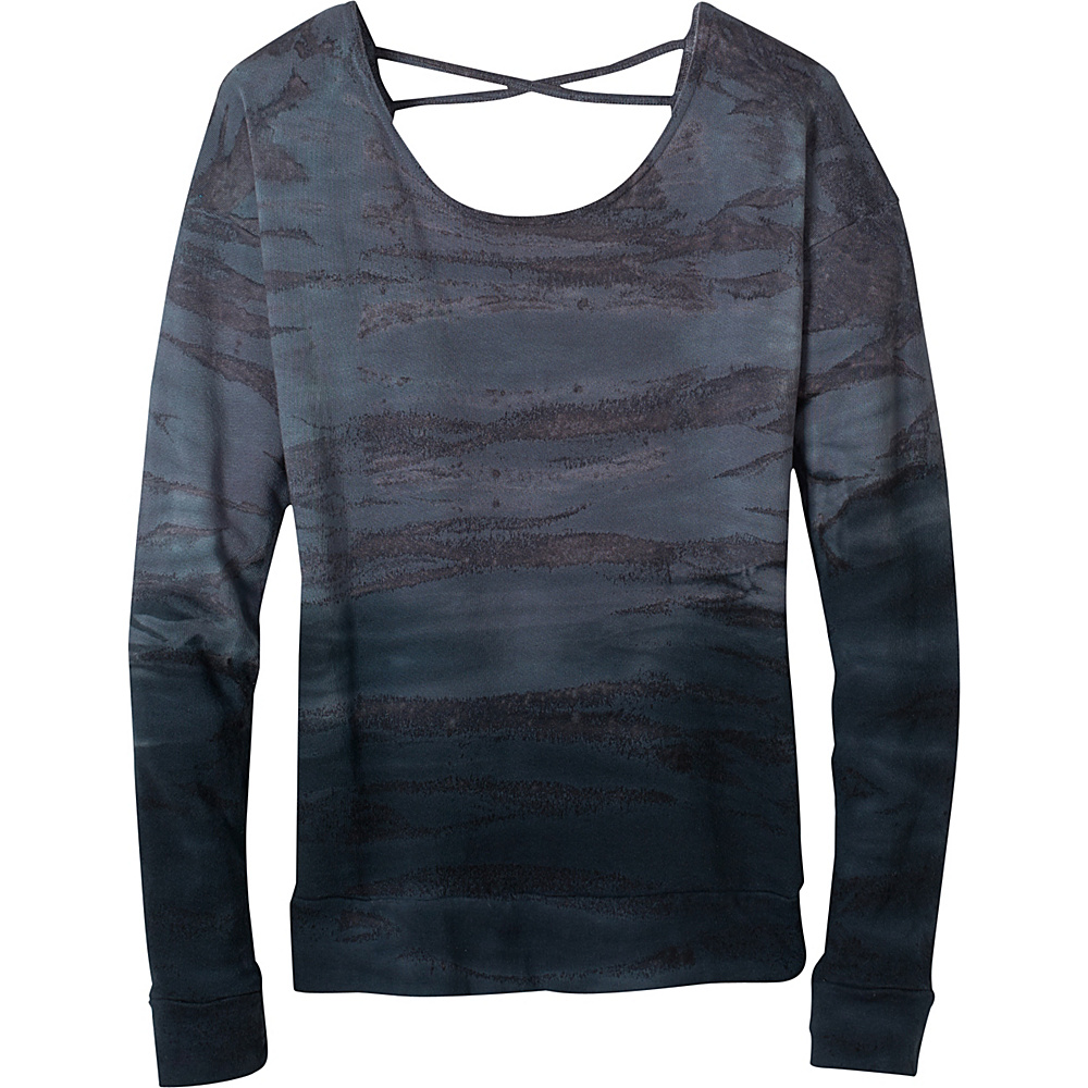 PrAna Deelite Pullover XL - Coal - PrAna Womens Apparel - Apparel & Footwear, Women's Apparel