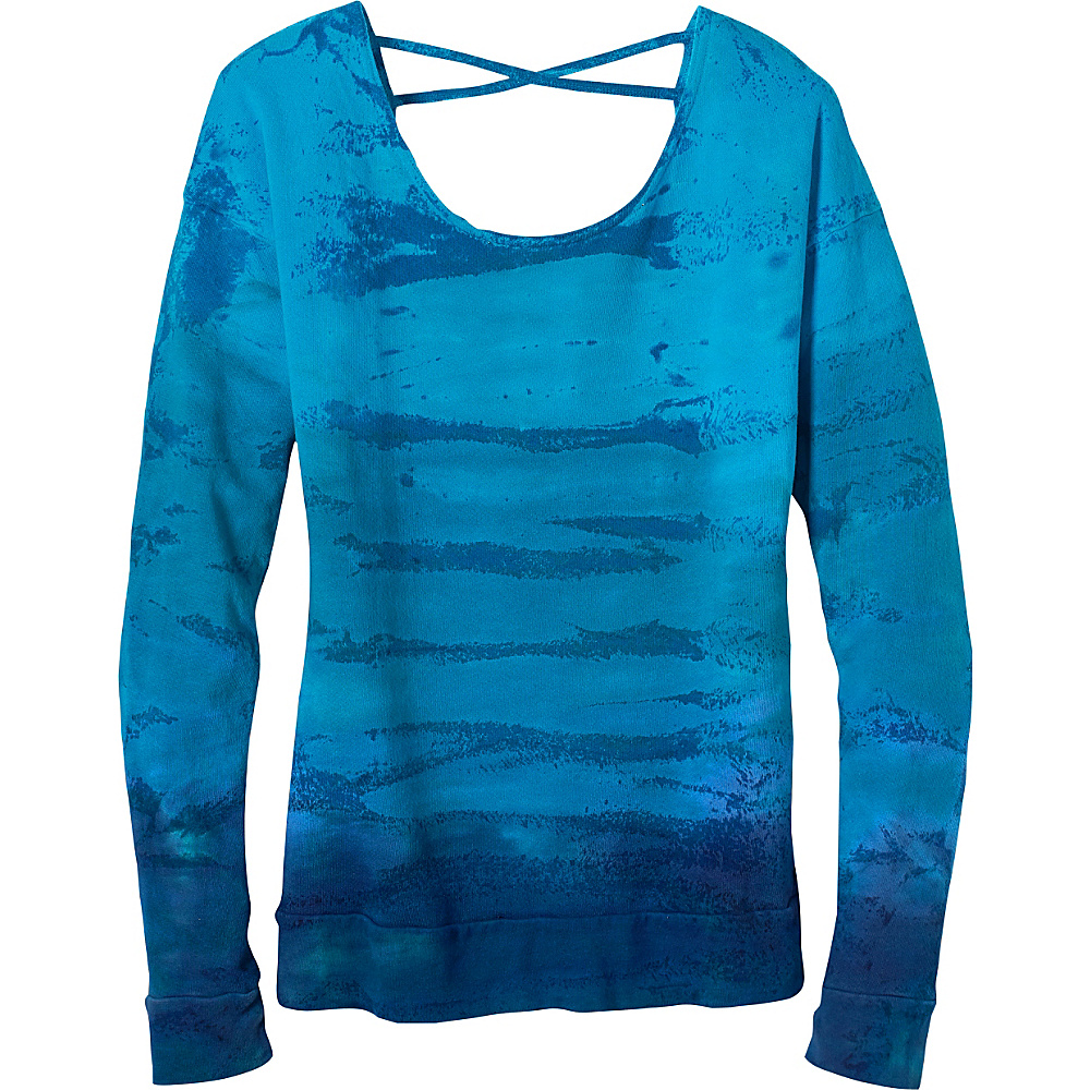 PrAna Deelite Pullover L - Cove - PrAna Womens Apparel - Apparel & Footwear, Women's Apparel