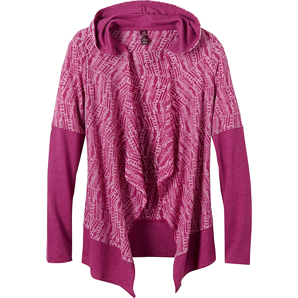 PrAna Graceful Wrap L - Rich Fuchsia - PrAna Womens Apparel - Apparel & Footwear, Women's Apparel