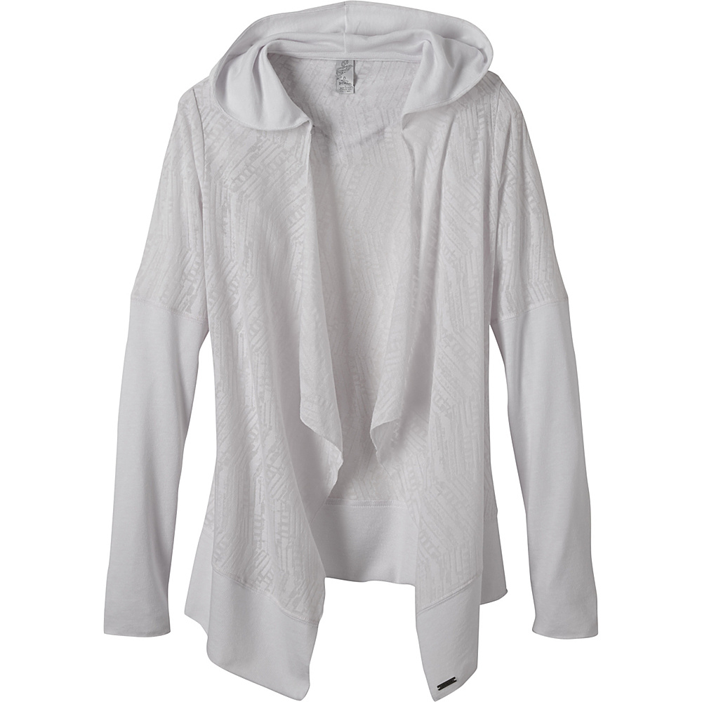 PrAna Graceful Wrap M - White - PrAna Womens Apparel - Apparel & Footwear, Women's Apparel