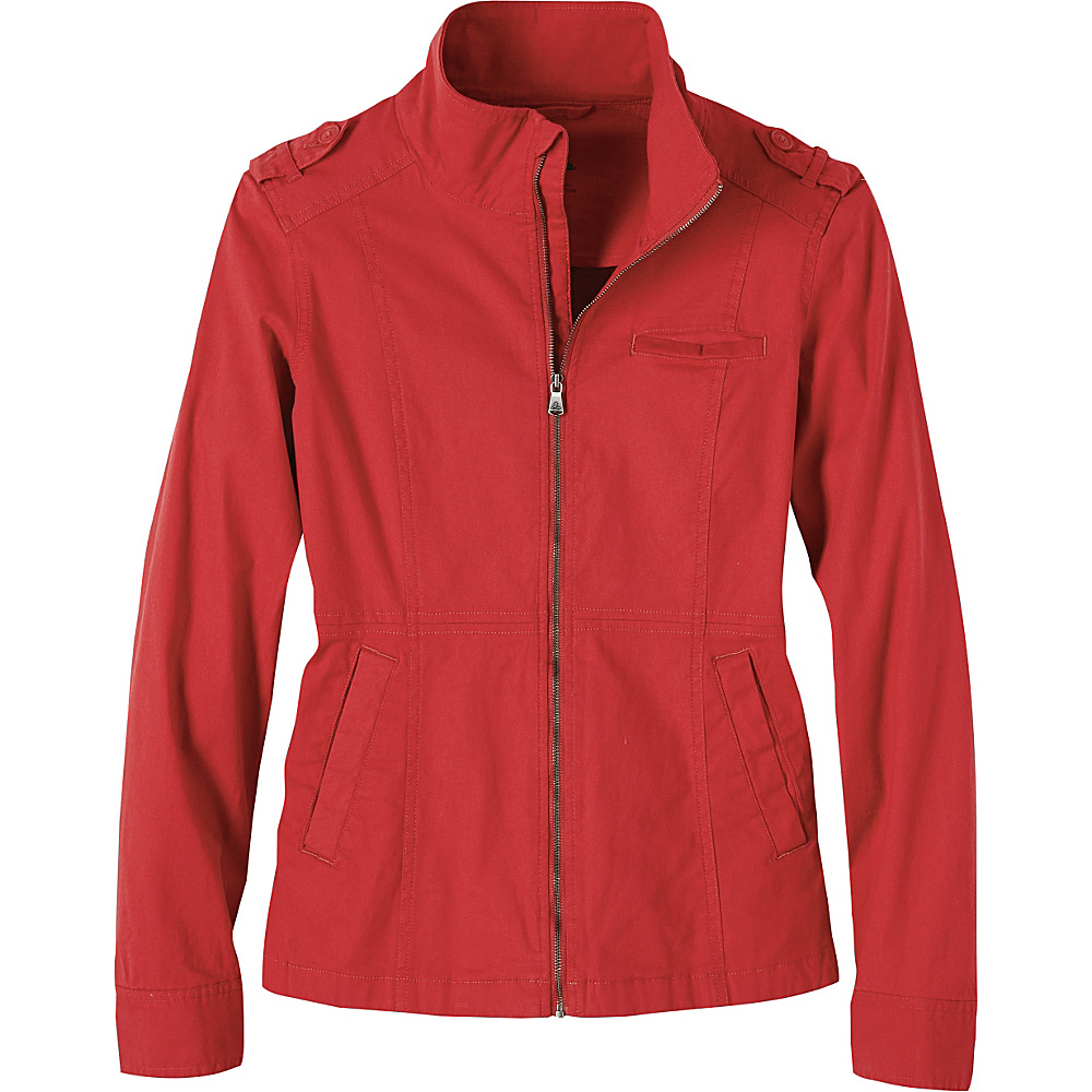 PrAna Mayve Jacket M - Sunwashed Red - PrAna Womens Apparel - Apparel & Footwear, Women's Apparel