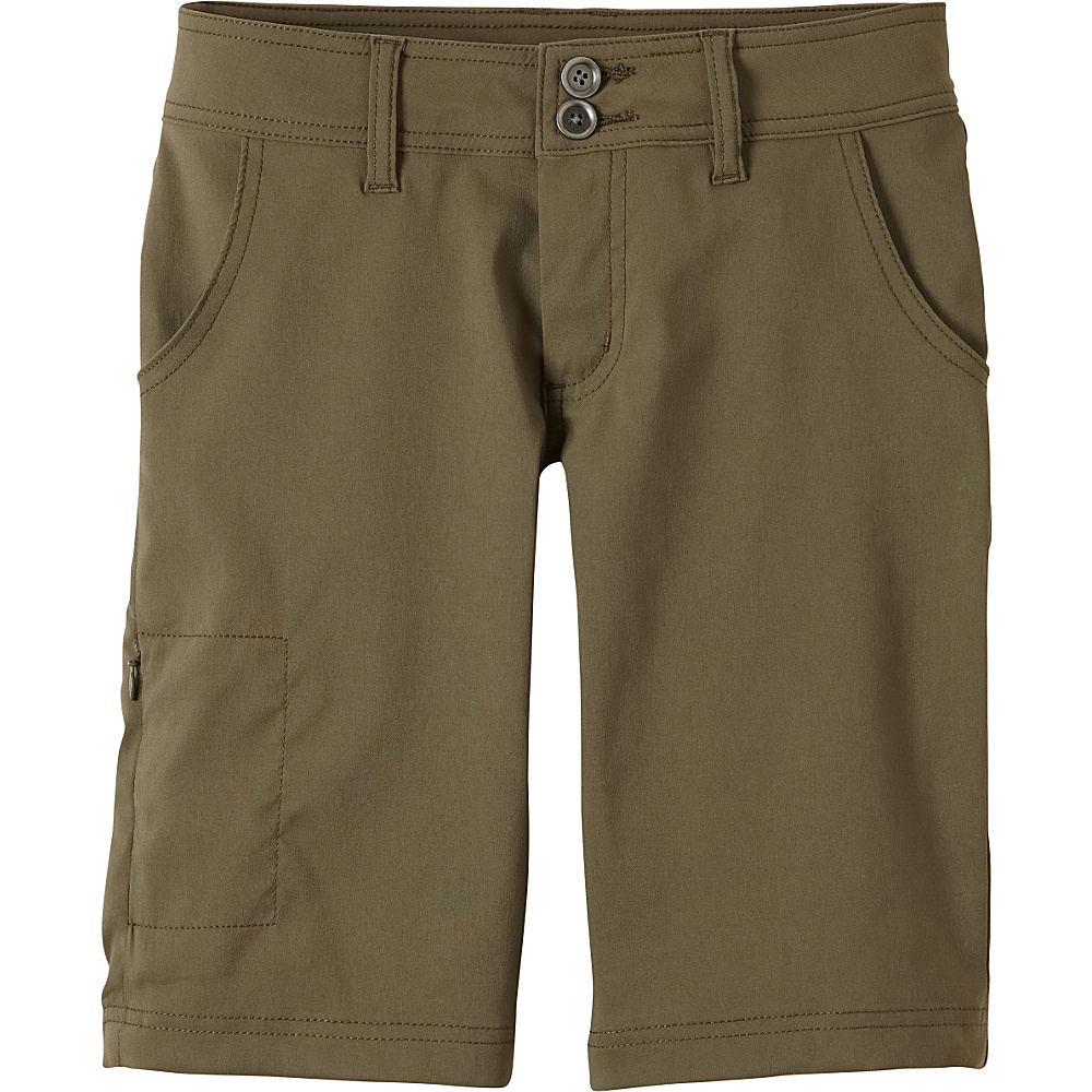 PrAna Halle Short 6 - Cargo Green - PrAna Womens Apparel - Apparel & Footwear, Women's Apparel