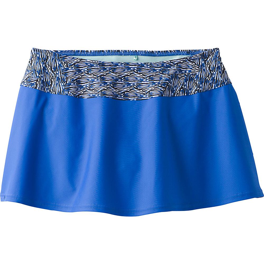 PrAna Sakti Swim Skirt XS - Blue Seashells - PrAna Womens Apparel - Apparel & Footwear, Women's Apparel