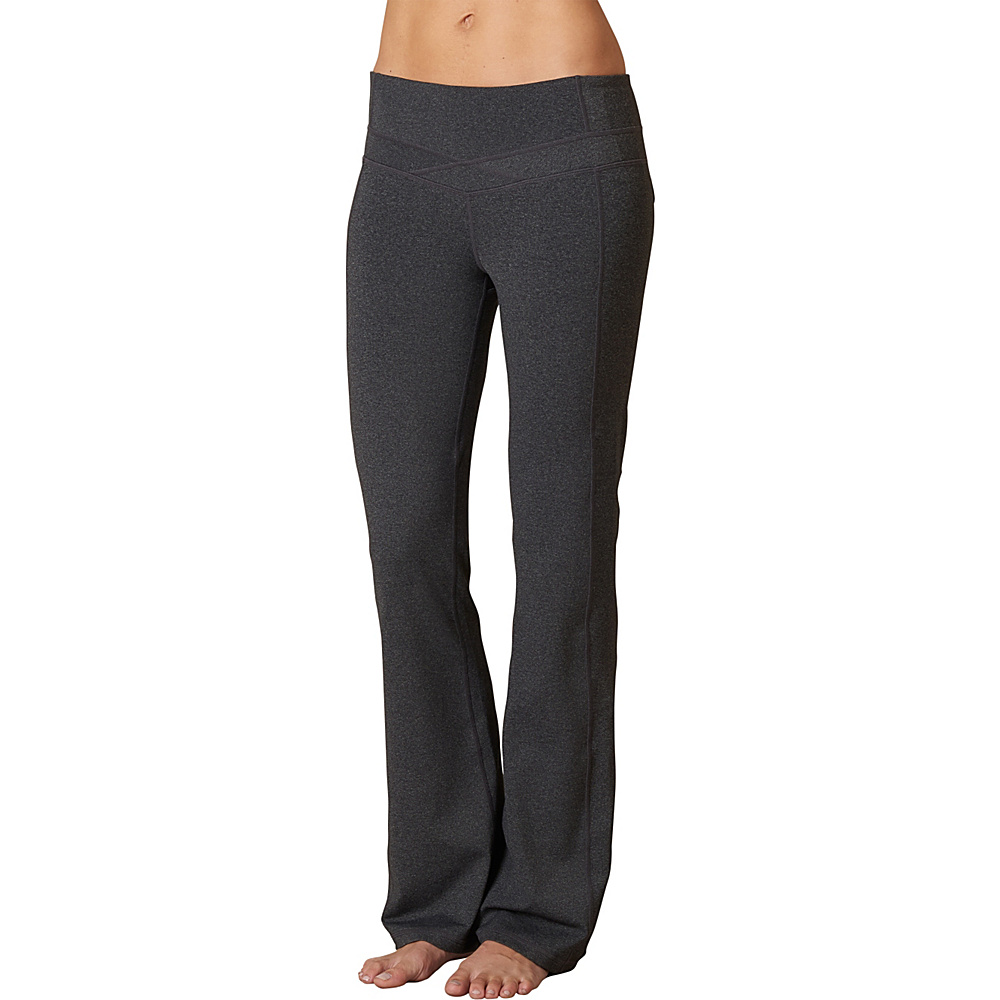 PrAna Britta Pants - Regular Inseam L - Charcoal Heather - PrAna Womens Apparel - Apparel & Footwear, Women's Apparel