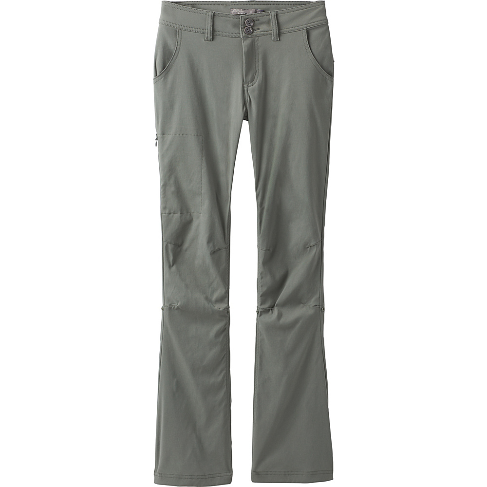 PrAna Halle Pant - Short Inseam 18 - Green Jasper - PrAna Womens Apparel - Apparel & Footwear, Women's Apparel