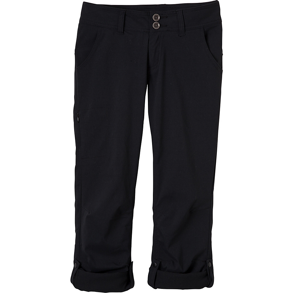 PrAna Halle Pant - Short Inseam 10 - Black - PrAna Womens Apparel - Apparel & Footwear, Women's Apparel