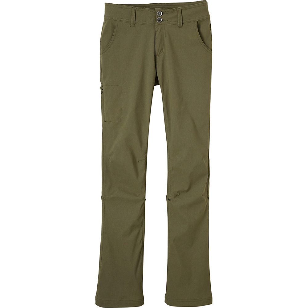 PrAna Halle Pant - Short Inseam 16 - Cargo Green - PrAna Womens Apparel - Apparel & Footwear, Women's Apparel
