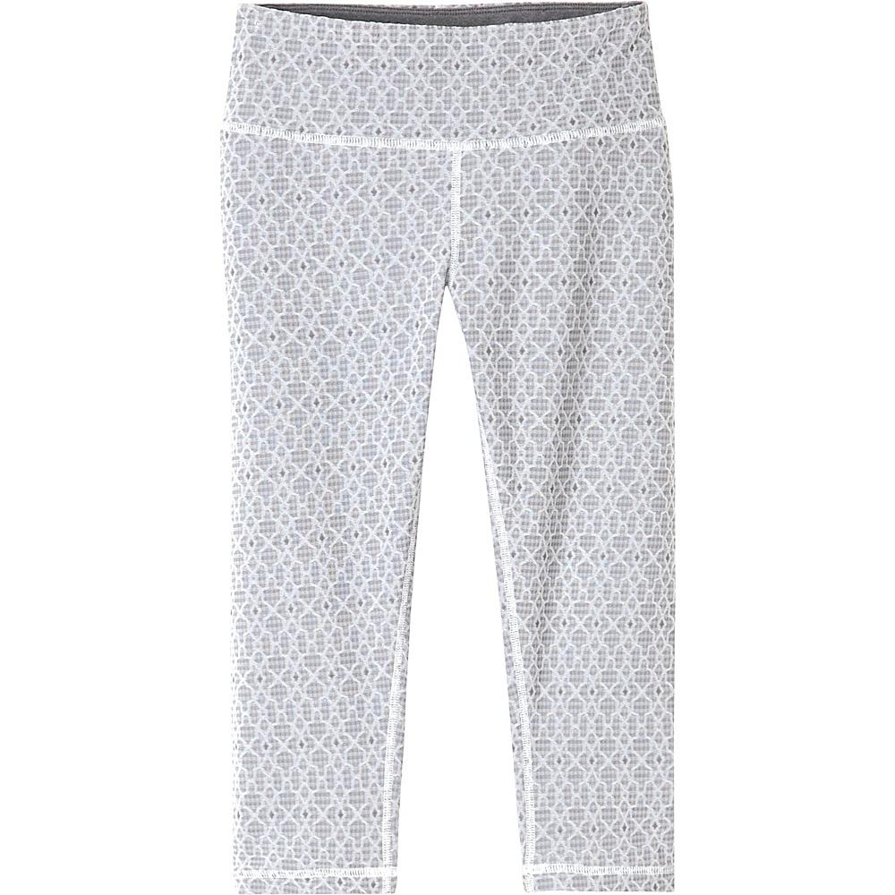 PrAna Misty Knicker M - Silver Jacquard - PrAna Womens Apparel - Apparel & Footwear, Women's Apparel