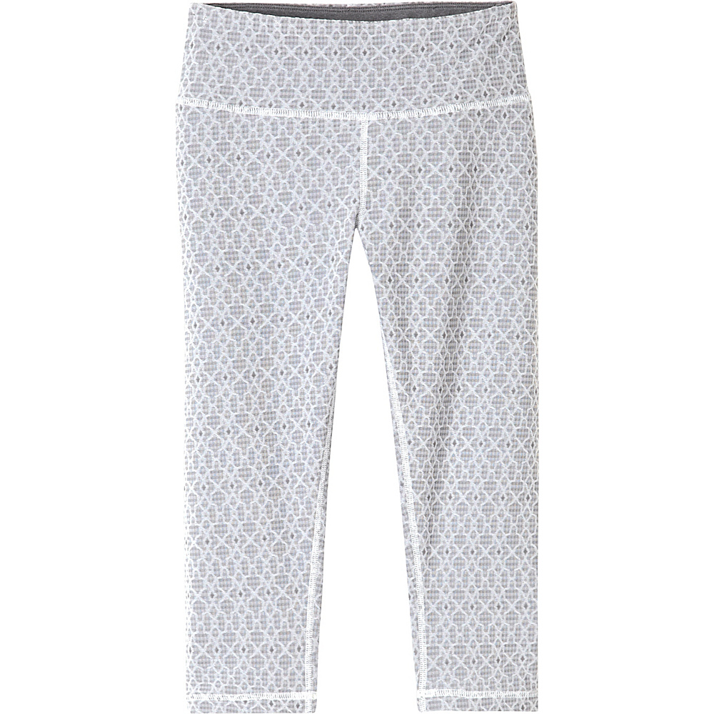 PrAna Misty Knicker L - Silver Jacquard - PrAna Womens Apparel - Apparel & Footwear, Women's Apparel