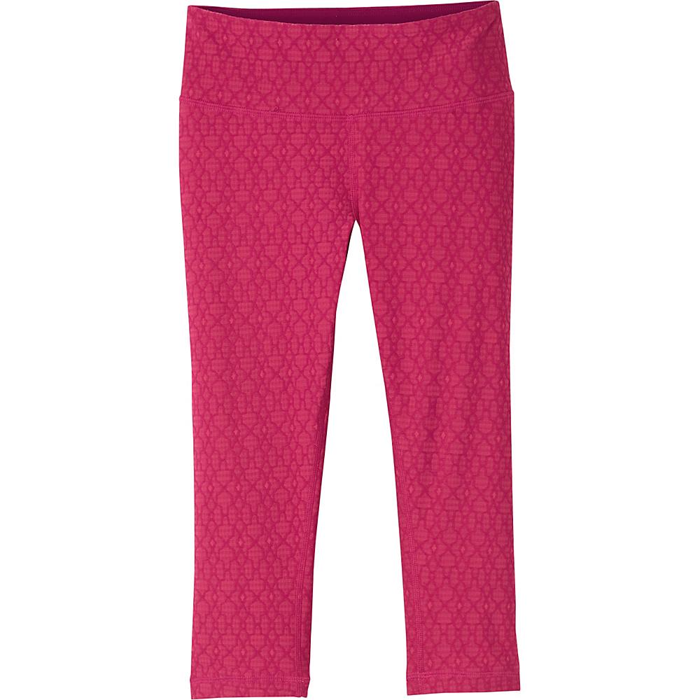 PrAna Misty Knicker L - Azalea Jacquard - PrAna Womens Apparel - Apparel & Footwear, Women's Apparel