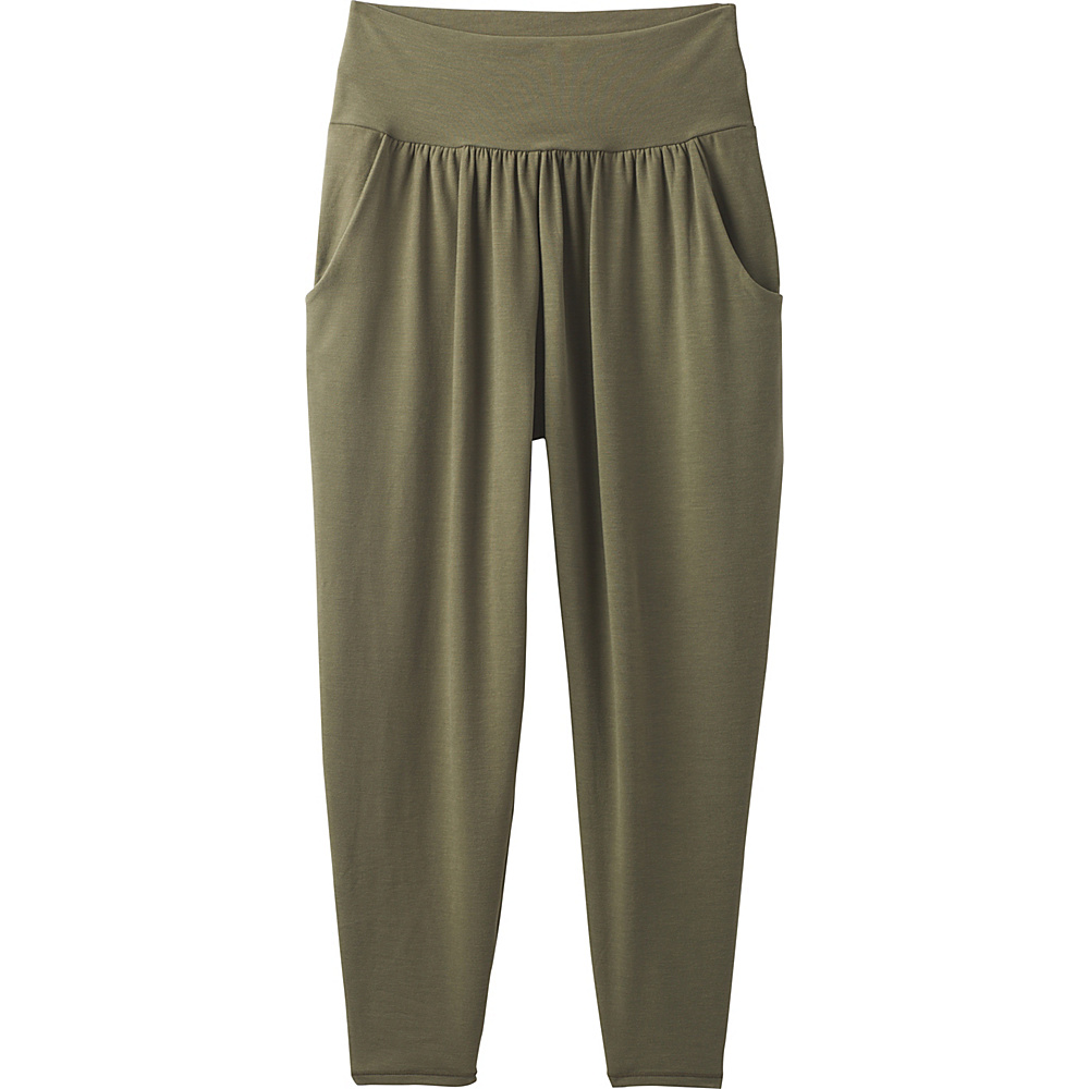 PrAna Ryley Crop L - Cargo Green - PrAna Womens Apparel - Apparel & Footwear, Women's Apparel