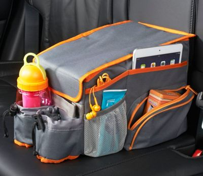 High Road Back Seat Cooler & Play Station - Compact Gray - High Road Trunk and Transport Organization
