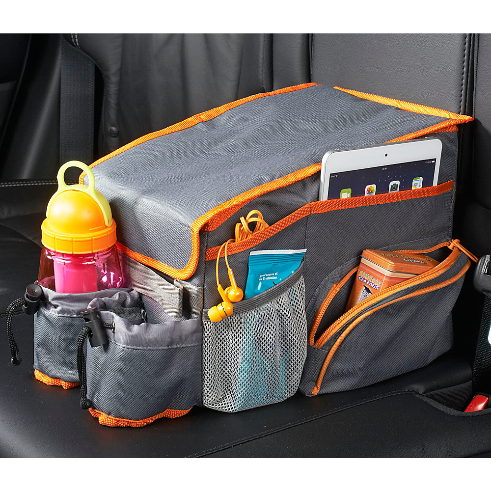 High Road Back Seat Cooler Play Station Compact Gray High Road Trunk and Transport Organization