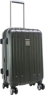 Calvin Klein Luggage Cortlandt 3.0 20 Carry-On Hardside Spinner Black - Calvin Klein Luggage Hardside Carry-On