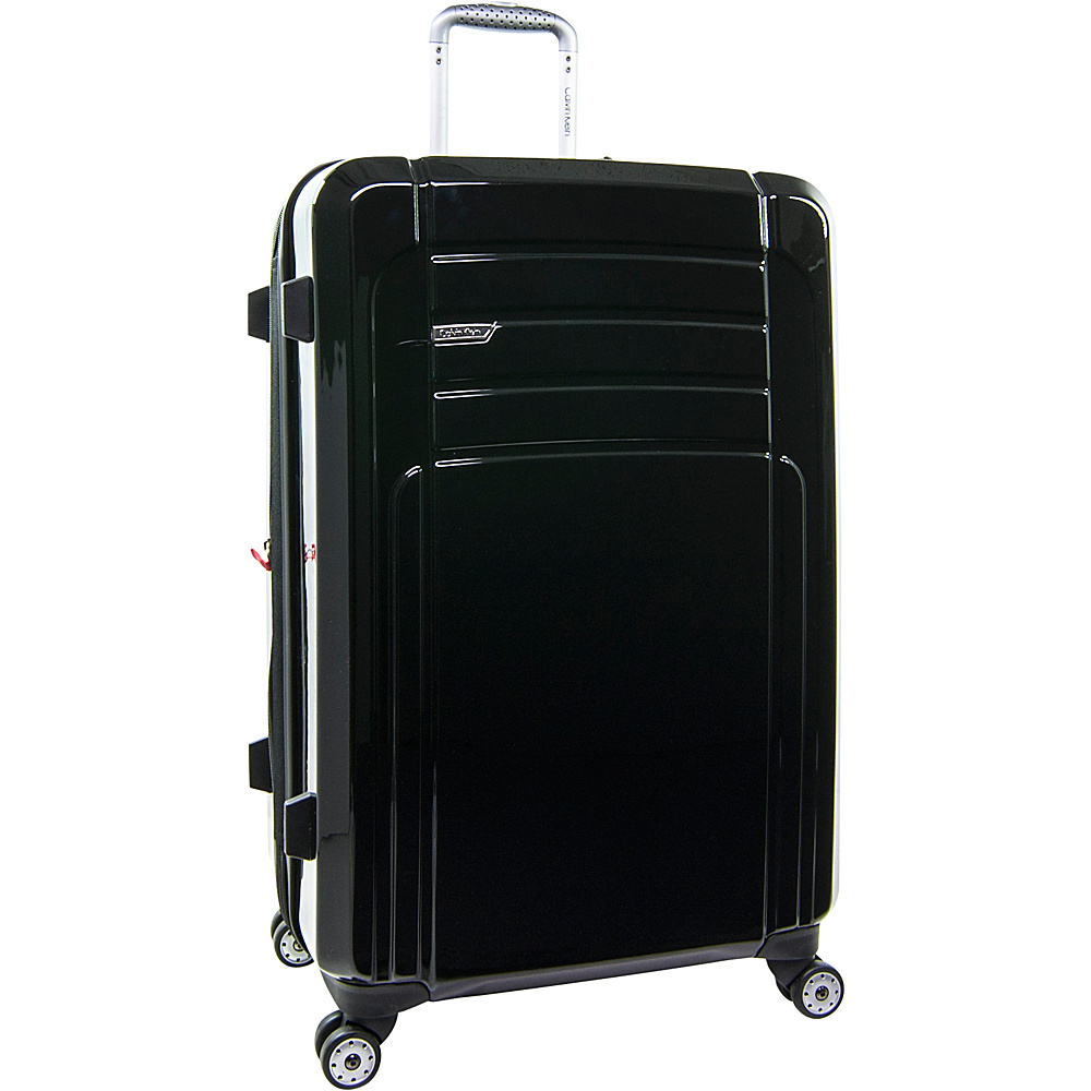 Calvin Klein Luggage Rome 29 Upright Hardside Spinner Black Calvin Klein Luggage Softside Checked