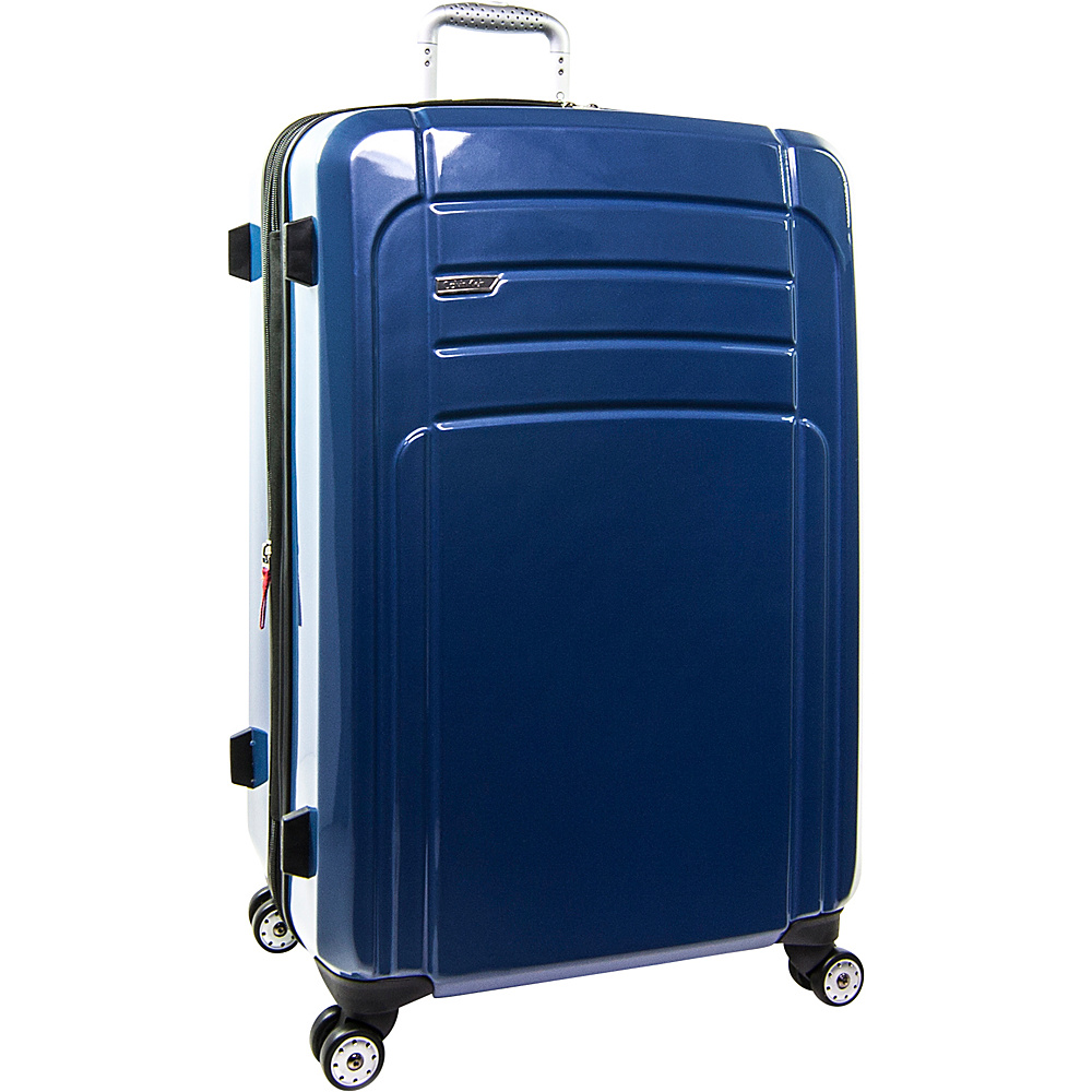 Calvin Klein Luggage Rome 29 Upright Hardside Spinner Blue Calvin Klein Luggage Softside Checked