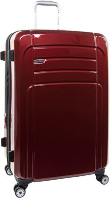 Calvin Klein Luggage Rome 29 Upright Hardside Spinner Red - Calvin Klein Luggage Softside Checked