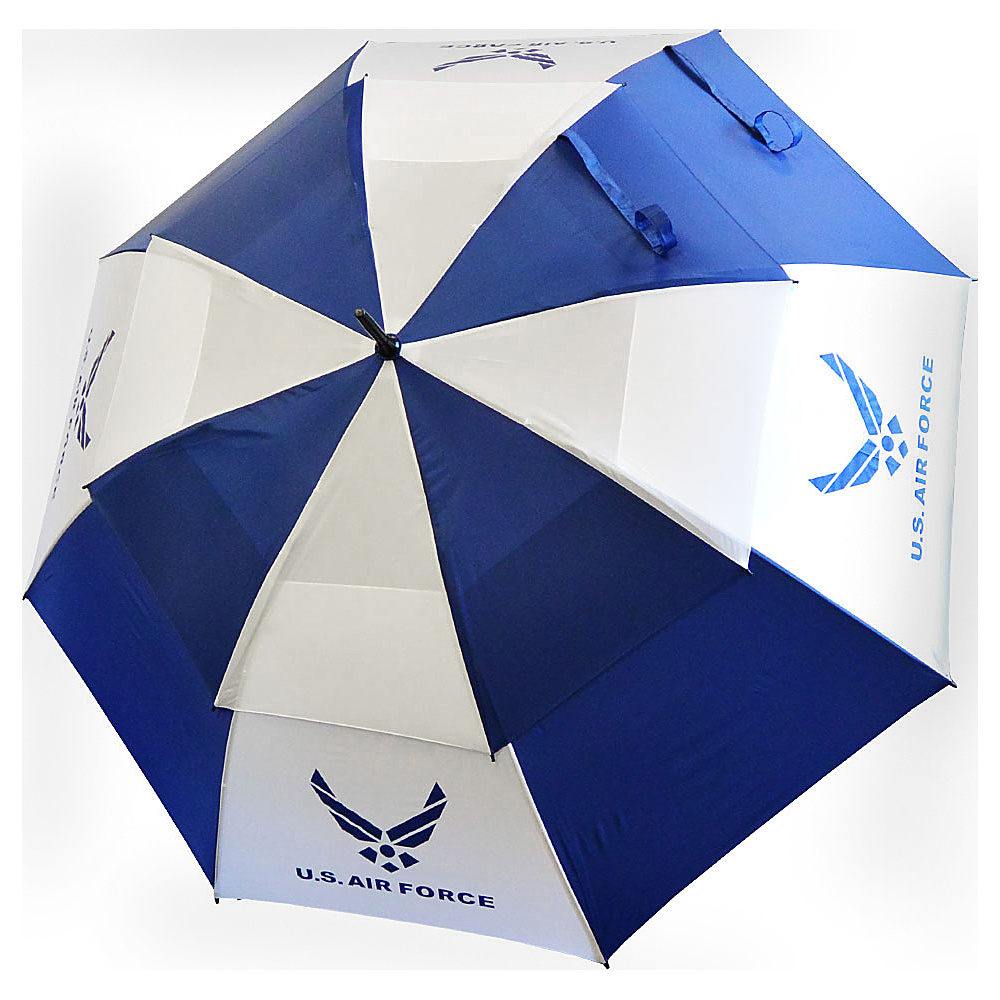 """Hot-Z Golf Bags 62"""" Double Canopy Umbrella Air Force - Hot-Z Golf Bags Sports Accessories"""
