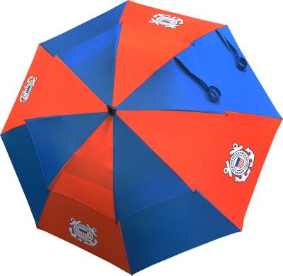 Hot-Z Golf Bags 62 inch Double Canopy Umbrella Coast Guard - Hot-Z Golf Bags Sports Accessories